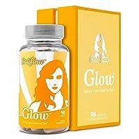GLOW by Califina - Hair Skin & Nails Vitamin & Antioxidant Beauty Pill Supplement...