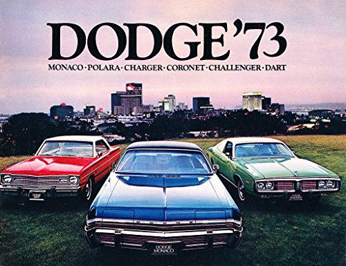 1973 Dodge 40-page Car Sales Brochure - Monaco Challenger Charger Dart Polara