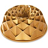 Nordic Ware Jubilee Bundt Pan, One, Gold