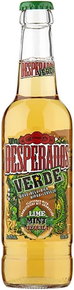Desperados Verde Lime Mint Tequila Flavour Beer 24 X 330ml Bottles Amazon Co Uk Grocery