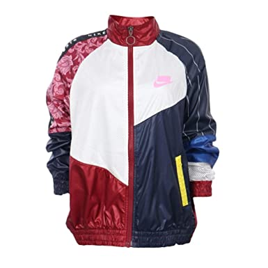 Nike Women's Woven Track Jacket Sportswear NSW AR3025 677 at