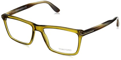 32eccff8f92 Tom Ford FT5407 C54 096 (shiny dark green   ) Frames  Amazon.co.uk  Clothing