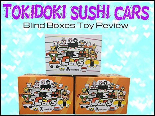 Review: Tokidoki Sushi Cars Blind Boxes Toy Review