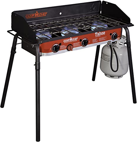 Camp Chef Tahoe Propane 3 Burner Grill - Lightweight