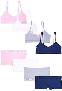 7b0fedbbfd6 Amazon.com: ToBeInStyle Girls' Pack of 6 Set of Matching Bras ...