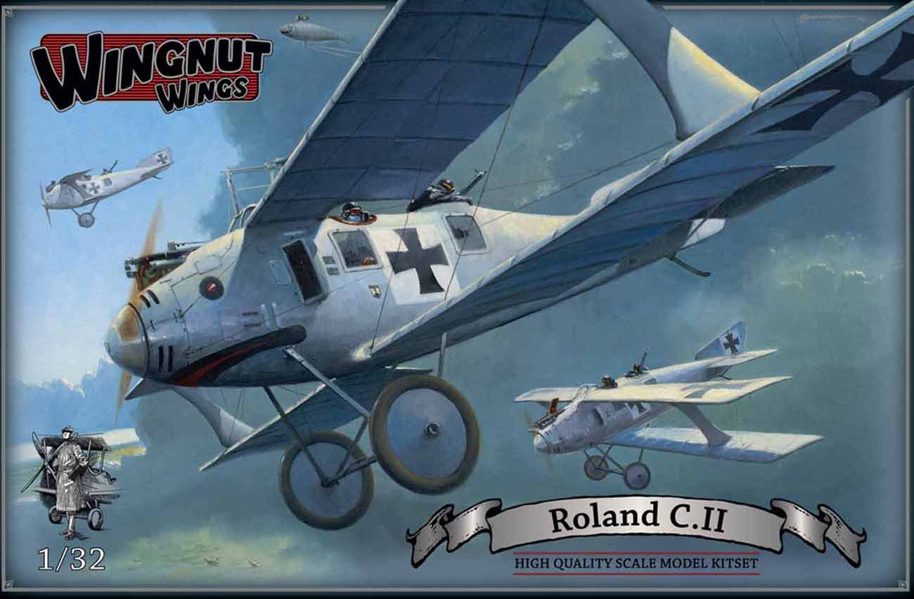 Wingnut Wings 1:32 Roland C.II Biplane Plastic Model Kit #32026 by Wingnut Wings (Image #1)