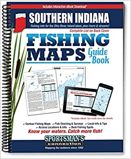 Southern Indiana Fishing Map Guide (Fishing Maps from Sportsman\'s ...