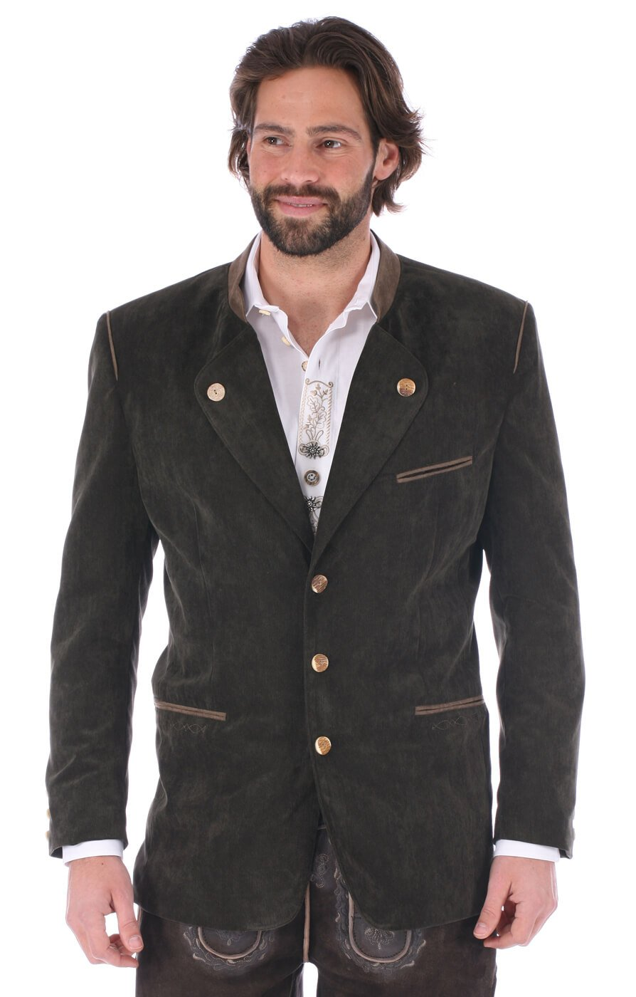German traditional jacket Jannik green by Orbis