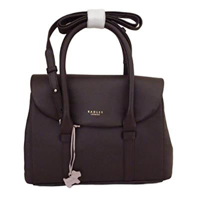 74ab08a8e4 RADLEY   Waterloo  Dark Brown Leather Medium Multiway Bag - RRP £199   Amazon.co.uk  Shoes   Bags