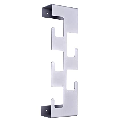 SemuUp - Perchero de Pared (Metal, 5 Ganchos), Color Negro ...