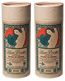 Lulu Organics Vetiver & Black Pepper Hair Powder (Pack of 2) with Certified Organic Corn Starch, White Clay, Horsetail Powder and Essential Oils, Vegan and Cruelty-free, Talc and Gluten Free, 4 oz.
