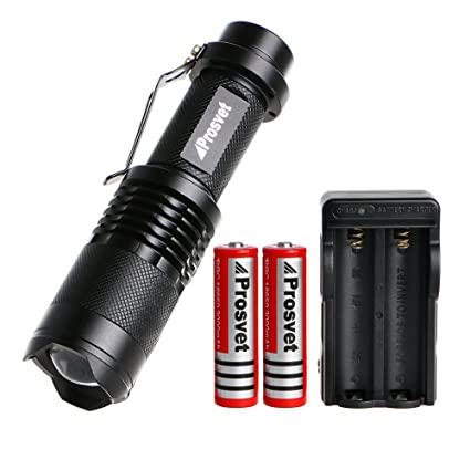 Prosvet Sk98 Cree Xml T6 Led 1200 Lumens Portable Zoomable Tactical