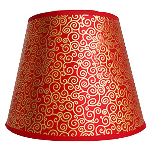 Eastlion Simple Modern Manual PVC Lamp Shade for Table Lamp,