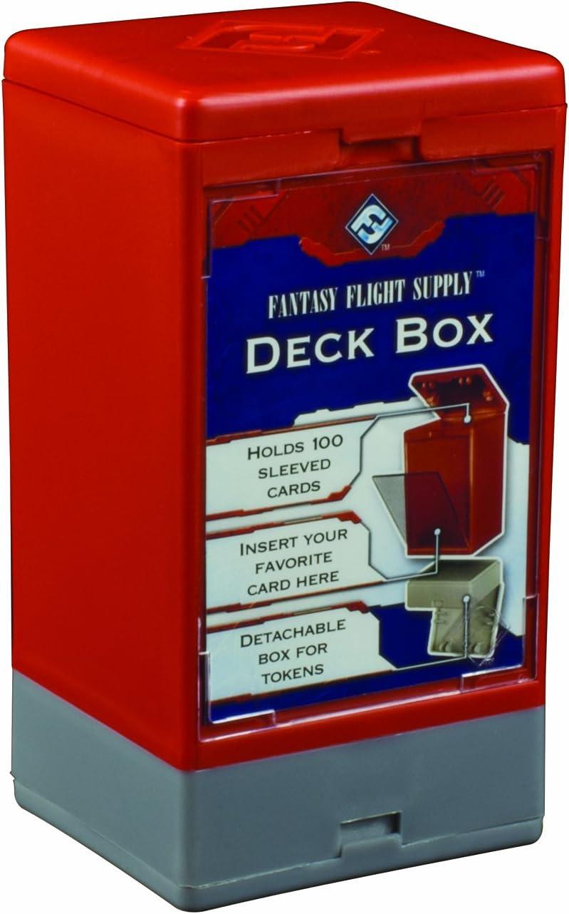 Deck Box: FFG Red: Amazon.es: Juguetes y juegos