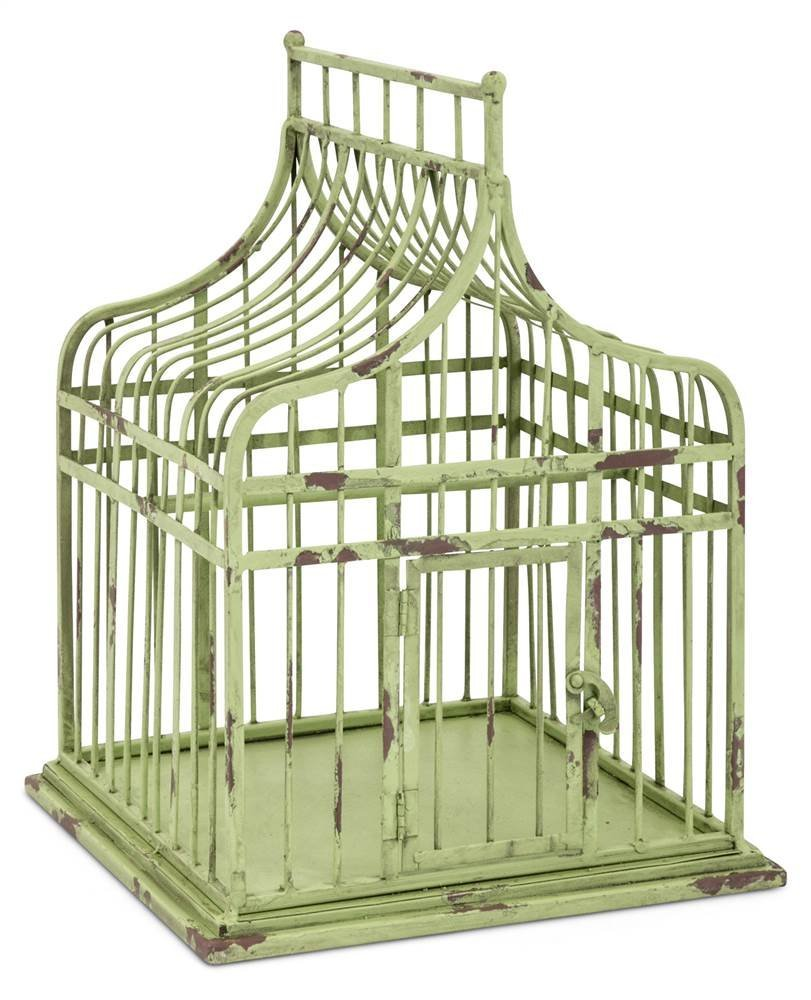 Imax 17281 Lulu Bird Cage Misc, Green by Imax