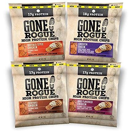 Gone Rogue – Chips de alta proteína, carburador bajo ...