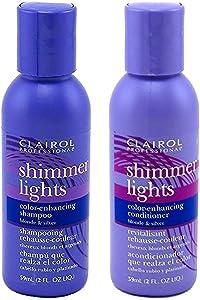 Champú y acondicionador Clairol Shimmer Lights