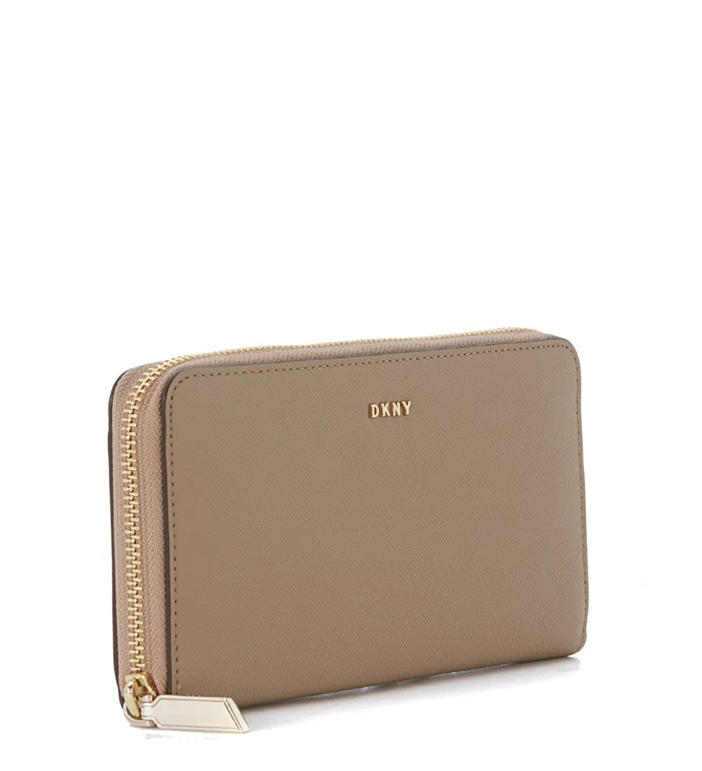 22c8666fa3c Dkny Women s Dkny Beige Natural Saffiano Leather Wallet Beige  Amazon.co.uk   Clothing
