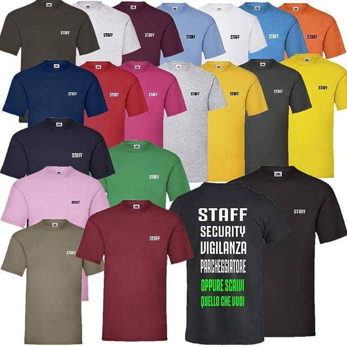 Camiseta Staff o Personalizada como Quieras Fruit of The Loom PS ...