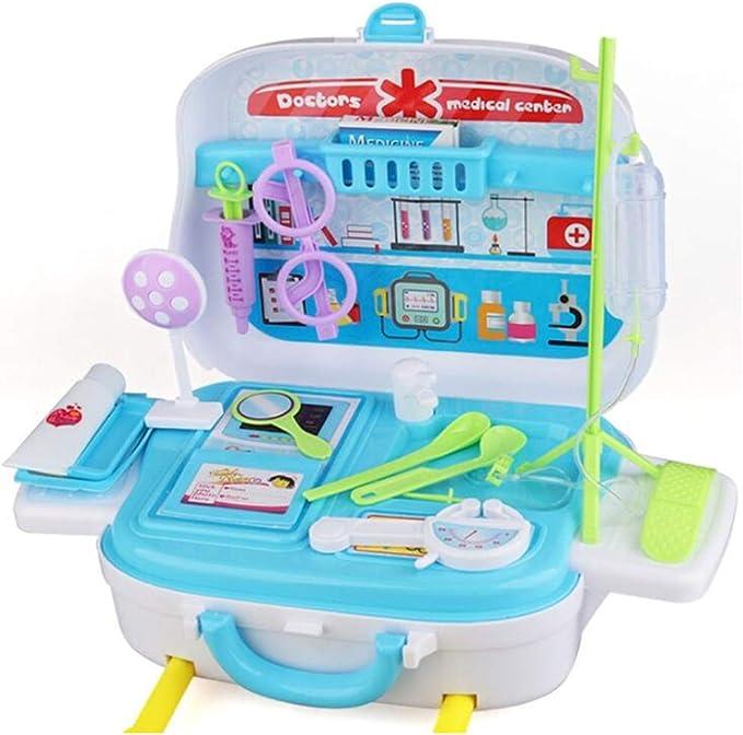 Hemistin 14PCS Toy Medical Kit Doktor Krankenschwester Ausbildung Vort/äuschen Spielzeug Rollenspiel Zahnarzt Set Kinder Spielen Haus Spielzeug