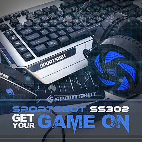 61siuwlUHhL - SportsBot-SS302-4-in-1-LED-Gaming-Over-Ear-Headset-Headphone-Keyboard-Mouse-Mouse-Pad-Combo-Set-w-6-Programmable-Macro-Keys-3-Macro-Modes-40mm-Speaker-Driver-Microphone