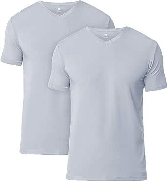 LAPASA Pack de 2 Camisetas de Hombres Manga Corta de Austria ...