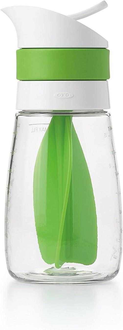 OXO Good Grips Twist & Pour Salad Dressing Mixer, Green
