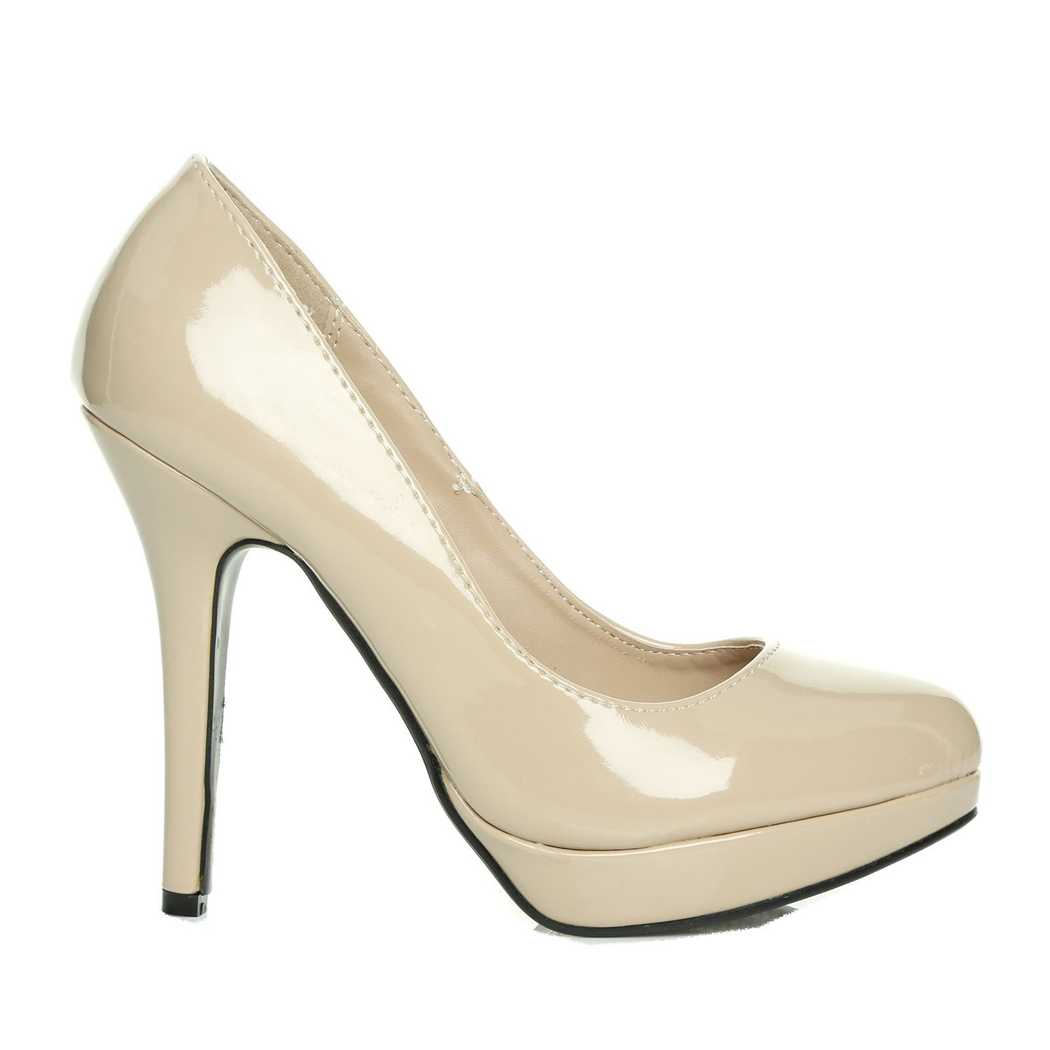Moltiplicazione Noce delicato  LADIES/HIGH HEEL PLATFORM SHOES IN SIZE- 3/36 - 8/41 WOMENS COURT SHOE HEELS  NEW: Amazon.co.uk: Shoes & Bags