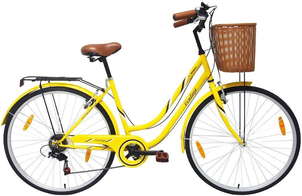 Tiger Vintage - Bicicleta de estilo Heritage para mujer, color ...