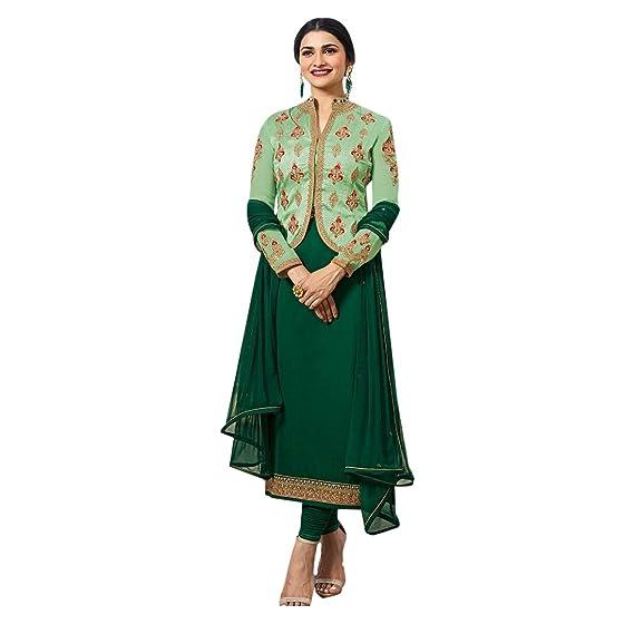 ETHNIC EMPORIUM Diseñador Bollywood Falda Plazo Colección ...