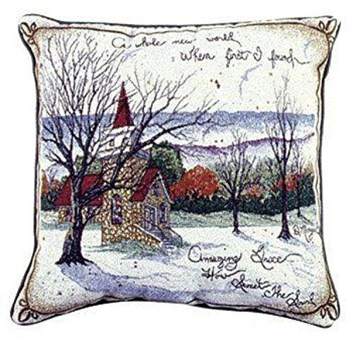 Amazing Grace Decorative Accent Throw Pillow 17 x 17