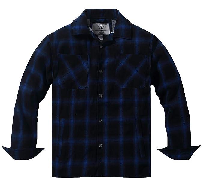 design distinctif meilleur en ligne bon out x WenVen Homme Manteaux d'hiver Matelassée Taille Grande