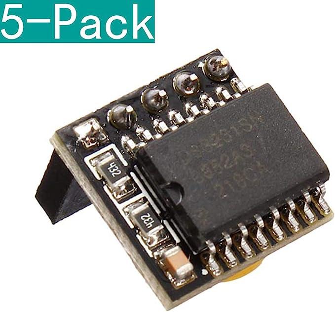 Youmile 5 Pack DIY DS3231 Precision RTC Clock Memoria Módulo para Arduino Raspberry Pi: Amazon.es: Electrónica
