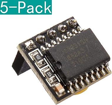 Youmile 5 Pack DIY DS3231 Precision RTC Clock Memoria Módulo para ...