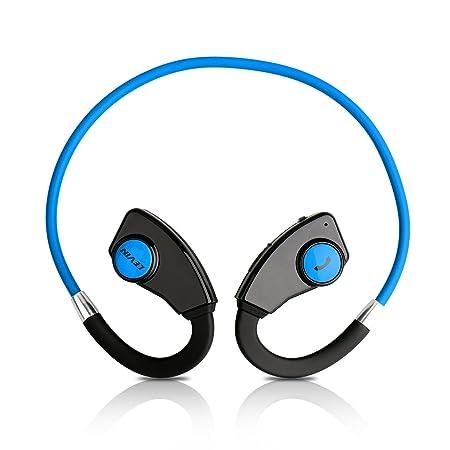Levin 2015 Nueva Versión Stereo Headset Bluetooth Deporte tecnología apt-X Deportes Wireless Neckband auricular con Bluetooth versión 4.0 para iPhone, ...