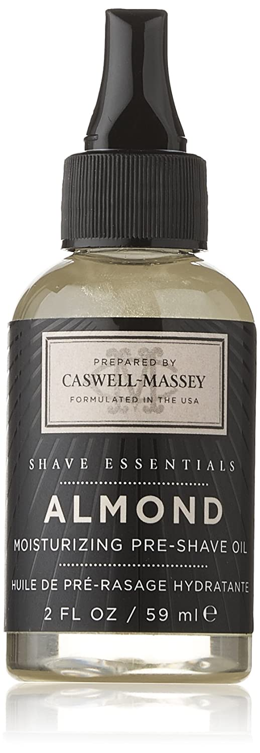 Caswell-Massey Pre-Shave Oil, Almond, 2.0 Ounce