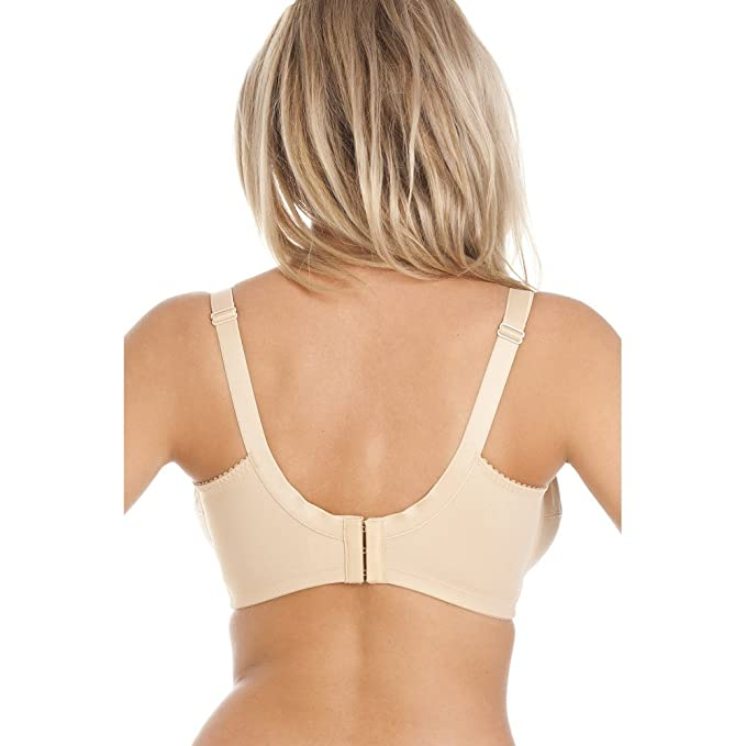 a254415b2936b Camille Womens Royce Jasmine Firm Support Ladies Breastfeeding Nursing Nude  Bra 32G: Amazon.co.uk: Clothing
