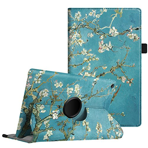 Fintie Rotating Case for Amazon Fire HD 8 (Previous Generation - 6th) 2016 release - Premium PU Leather