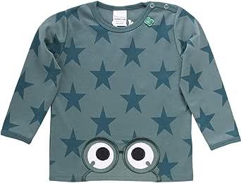 Fred's World by Green Cotton Star Peep T Baby Camiseta de Manga Larga para Bebés
