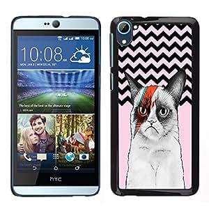 Dragon Case - FOR HTC Desire D826 - Life is a pure flame - Caja protectora de pl??stico duro de la cubierta Dise?¡Ào Slim Fit