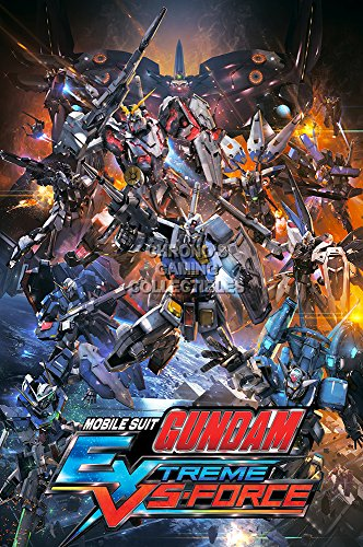 CGC Huge Poster GLOSSY FINISH - Mobile Suit Gundam Extreme VS Force PS Vita - EXT723 (24