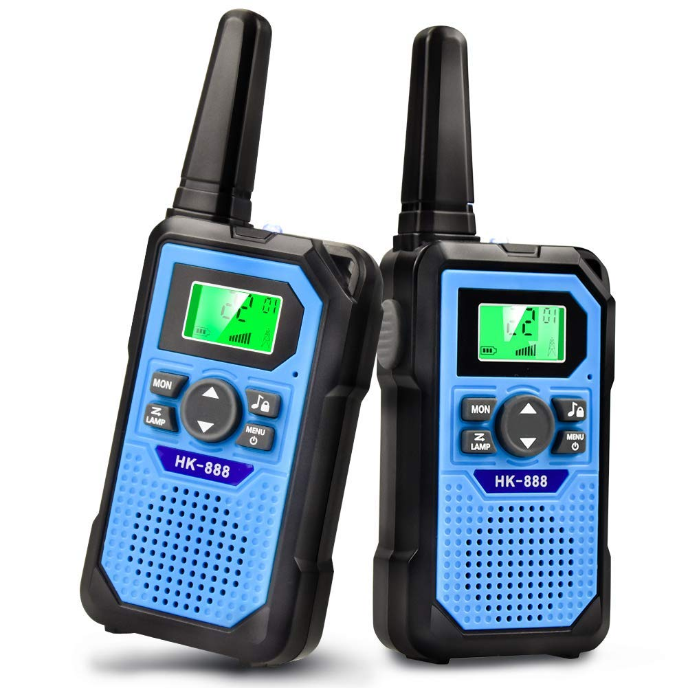 Kids Toys Walkie Talkies for Kids, Toys for 5 Year Old Boys Girls Age 3, 4, 5, 6,7,8 9-12 Year Old Gifts 22 Channel 3 Mile Long Range Boys Toys for 3 4 5 6 7 8 9 10 yrs Old Girls by VERDUO (Image #1)