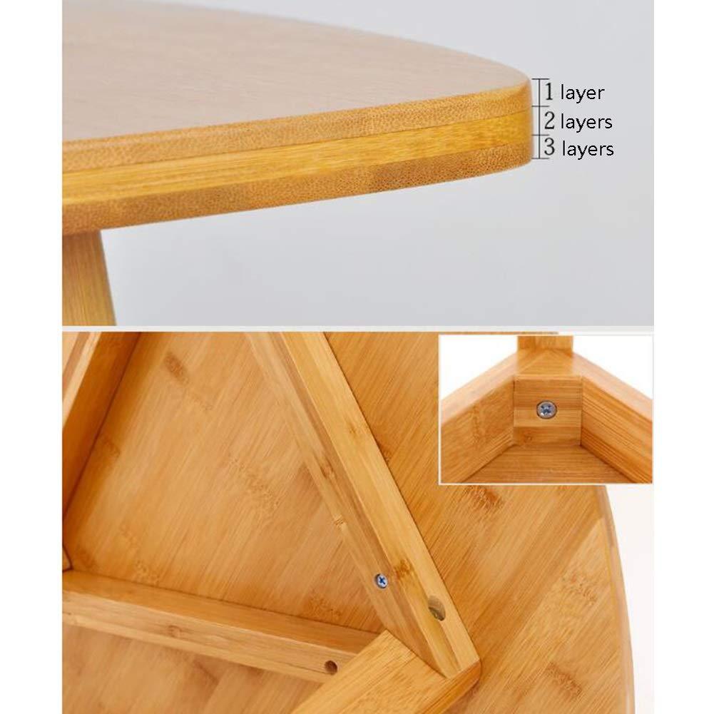 Amazon.com: Muebles de salón CJC 2 niveles triángulo mesa de ...