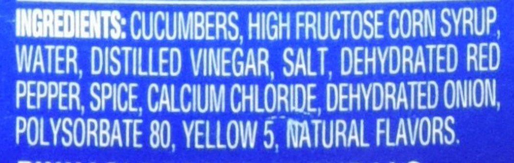 Vlasic Zesty Bread & Butter Chips Pickle, 24 Ounce