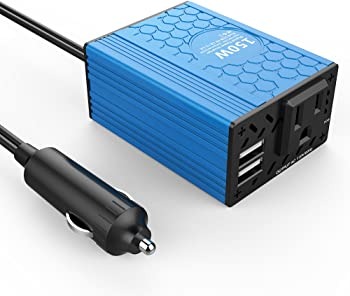 Voltcube 150W Car Power Inverter Converter w/USB Charger