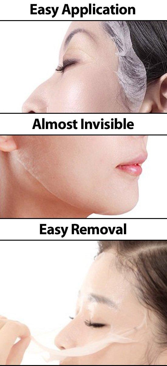 Amazon.com: Máscara facial de la Seda: Beauty