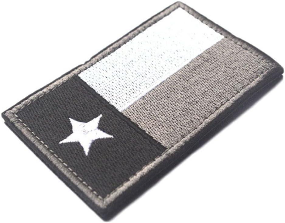 Bandera de Texas cinta táctica parche SWAT Militar ejército insignia brazalete, Color Gris: Amazon.es: Hogar