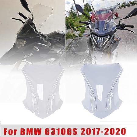 LoraBaber Guardamani moto Leva frizione freno Protezione paramano Scudo per BMW G310GS G310R G 310GS G 310R G 310 GS G 310 R 2017 2018 2019 Chiaro