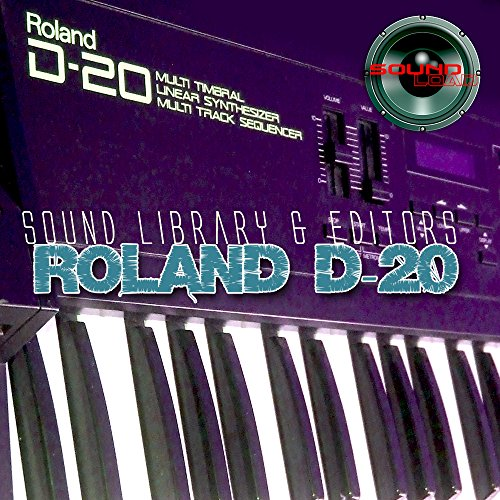 for ROLAND D-20 - Large Original Factory & NEW Created Sound Library & Editors on CD or download by SoundLoad