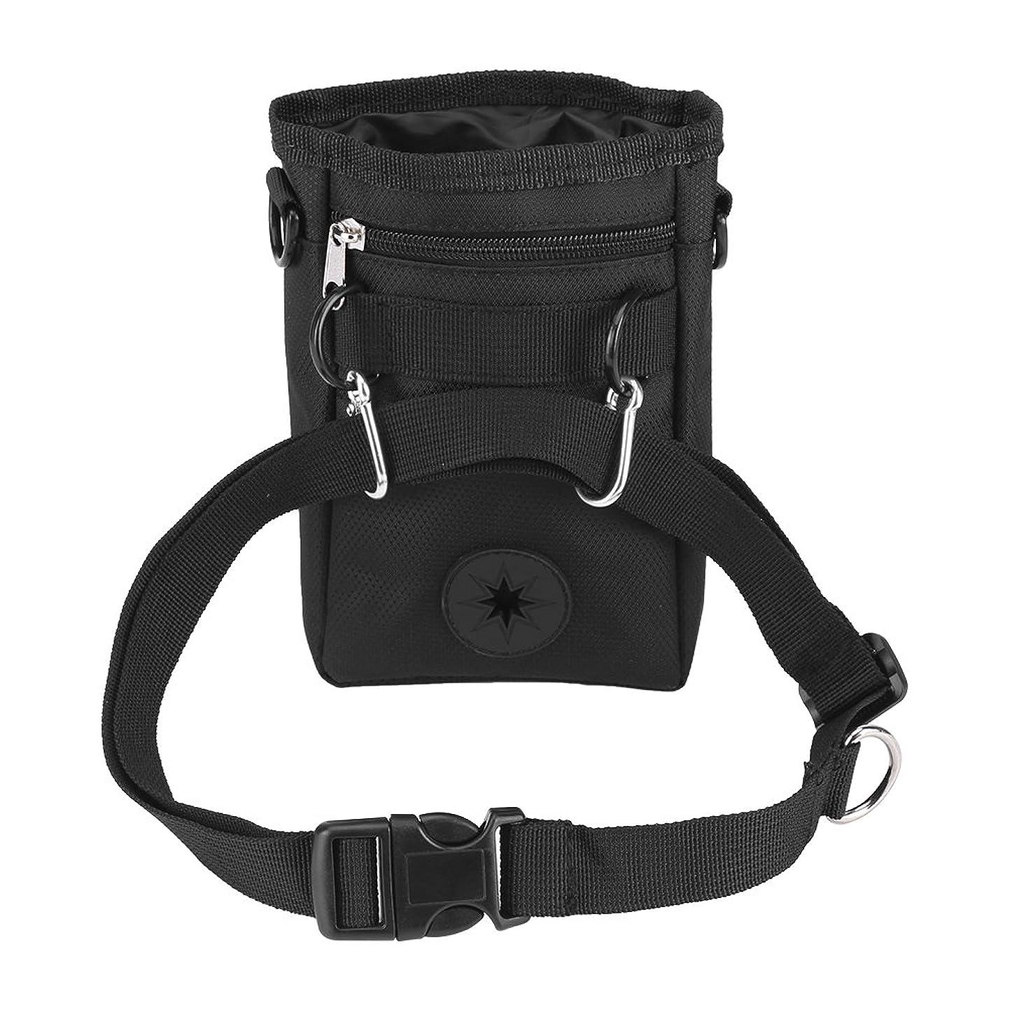 第五はぁ振り返るしんちんちん 犬トレーニングポーチ 携帯バッグ 犬 ウエストポーチ トレーニング 訓練や散歩 おでかけ用品 おやつ入れバック 小物入れ袋 散歩に適用 ベルト